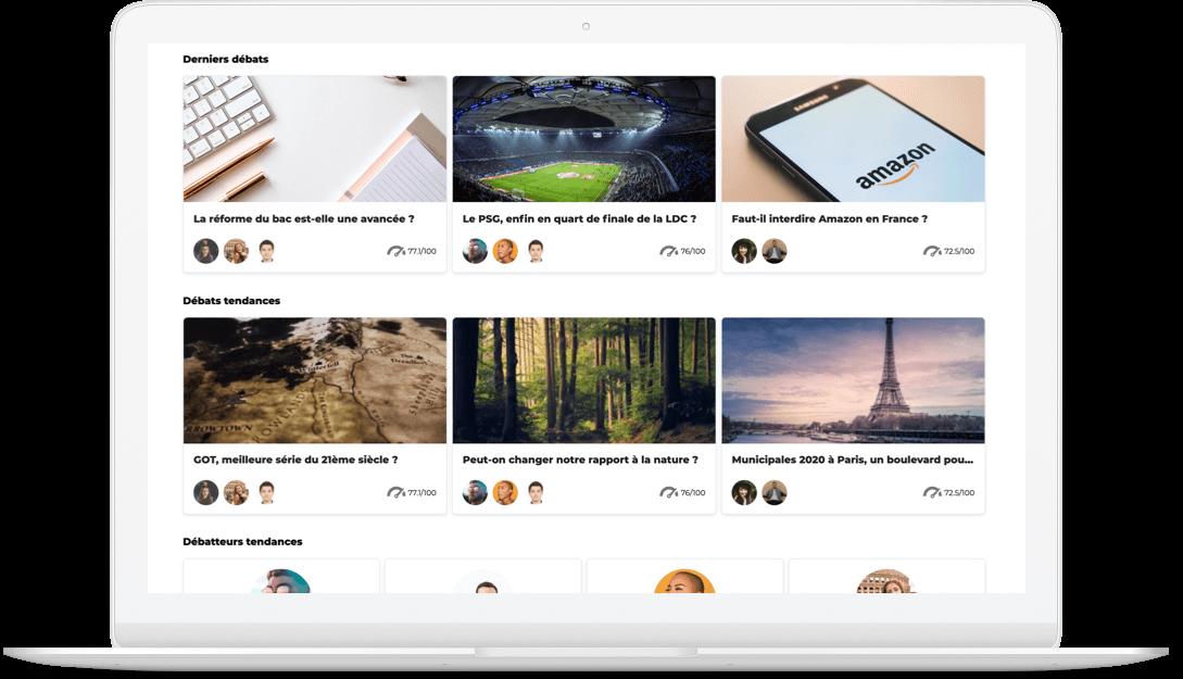 Améliorer le contenu de votre média en ligne, c'est le travail de Logora. Les espaces de commentaires n'ont qu'à bien se tenir.
